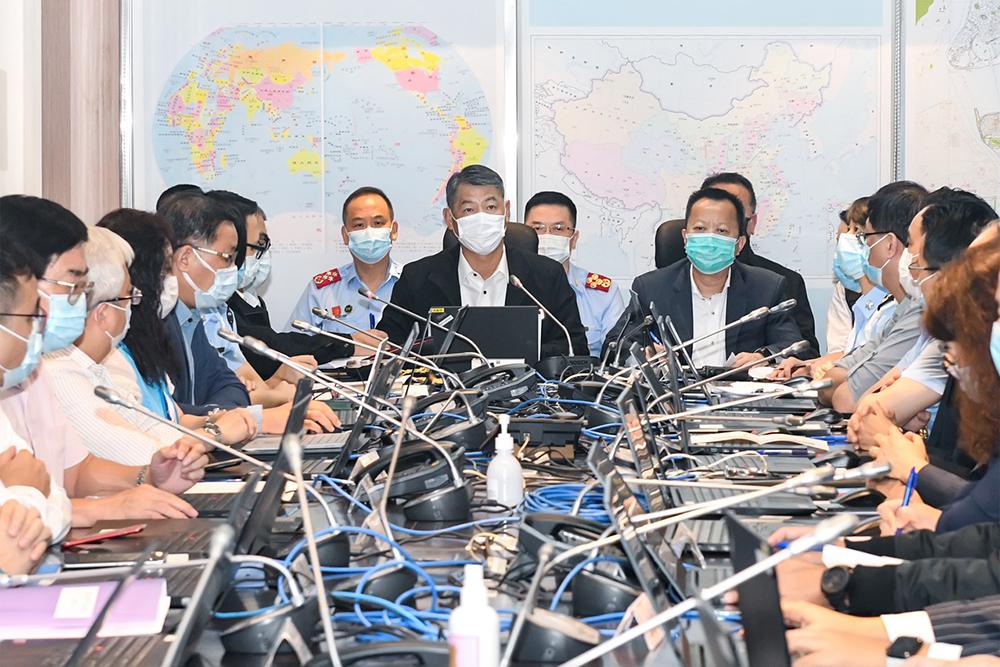 Nangka | Reacção é teste para protecção civil, disse André Cheong