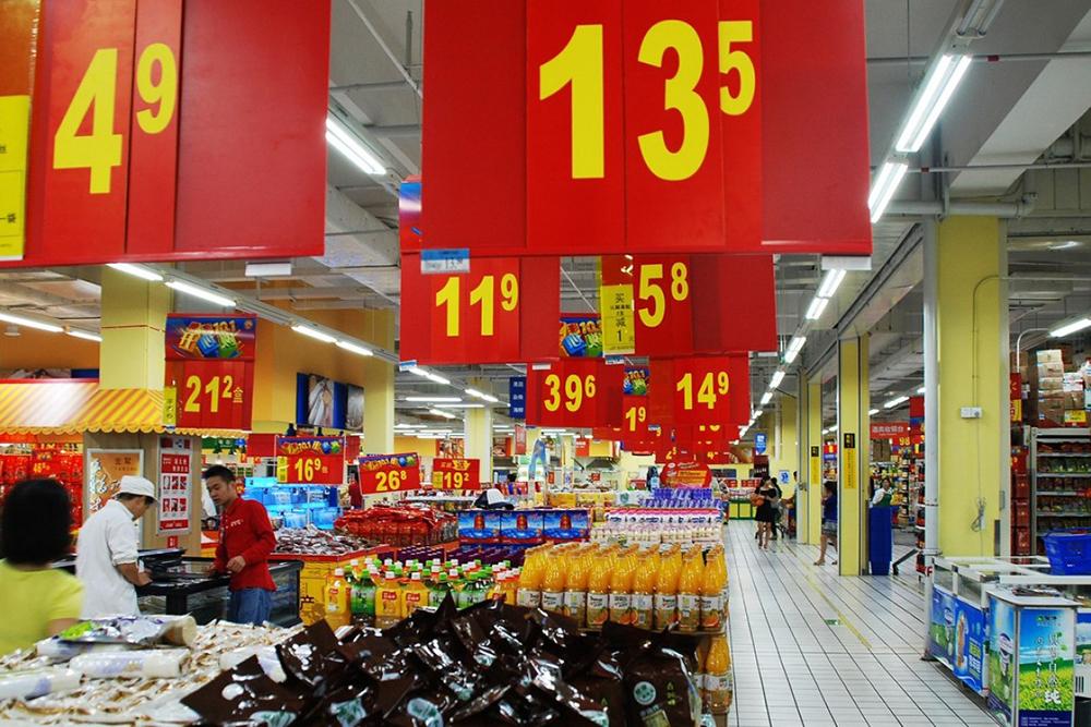 Inflação | Preços ao consumidor caíram pela primeira vez desde 2009
