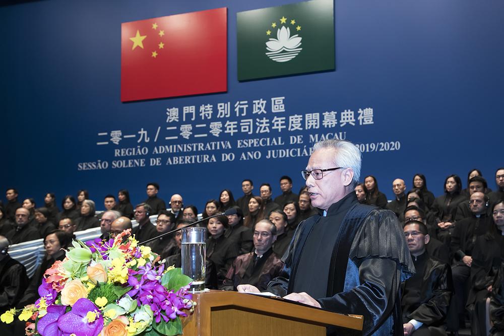Justiça    Sam Hou Fai reconduzido como presidente do Tribunal de Última Instância