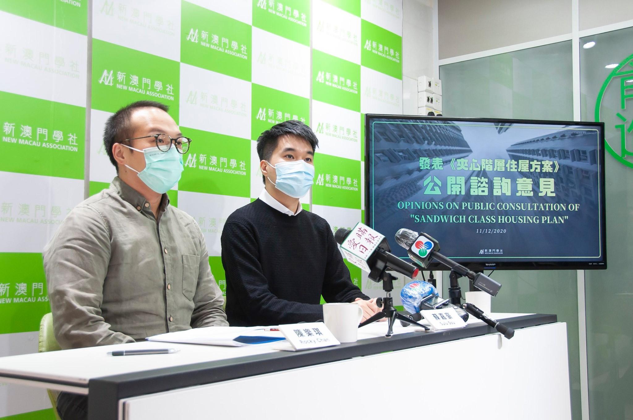 Classe sanduíche   Novo Macau quer lista de espera para acesso à habitação