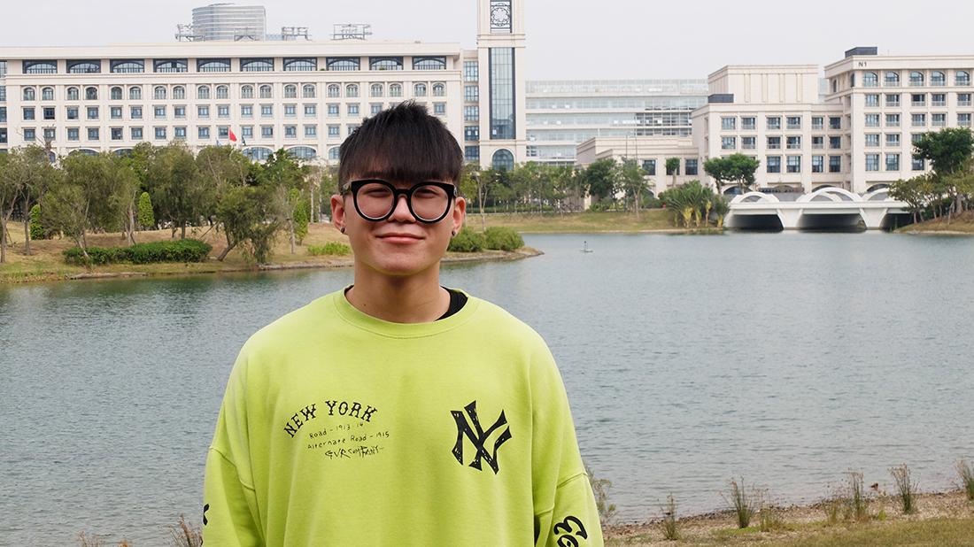 """Carson Fong, residente de Macau com 21 anos: """"Macau é um bom sítio para se viver"""""""