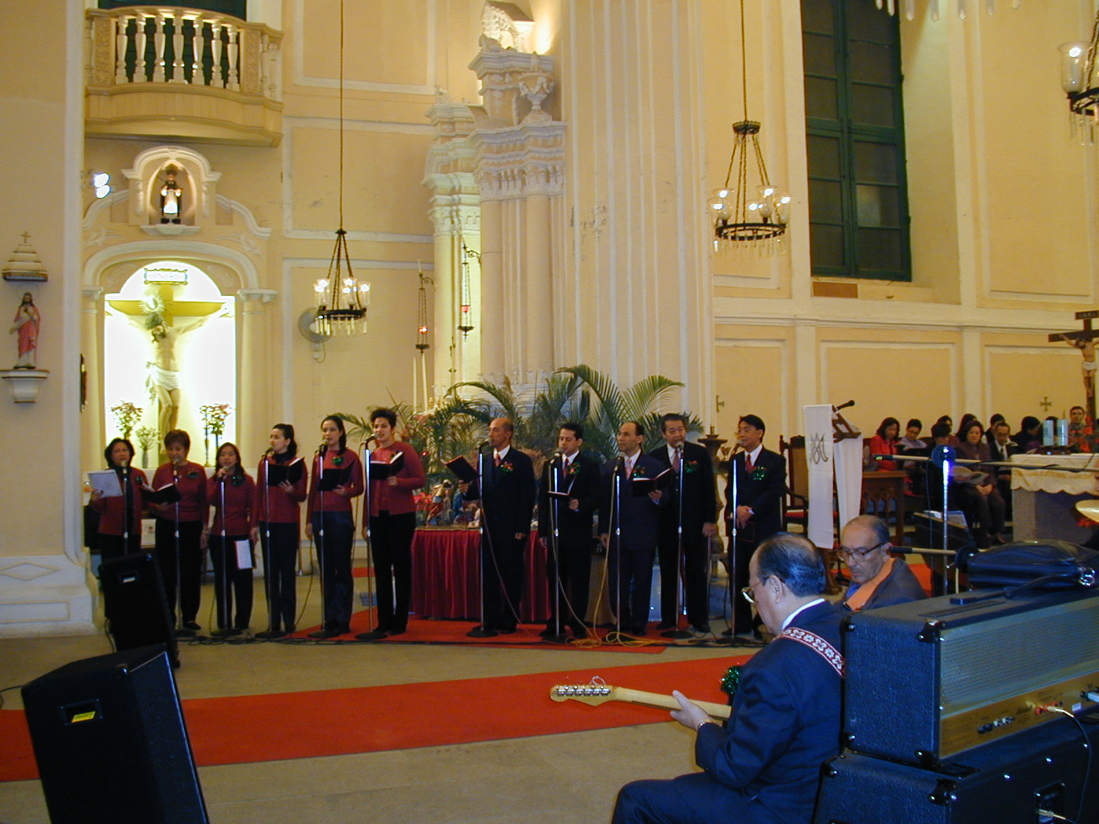 Doci Papiaçám   Coro reactivado com actuação na Igreja de São Domingos