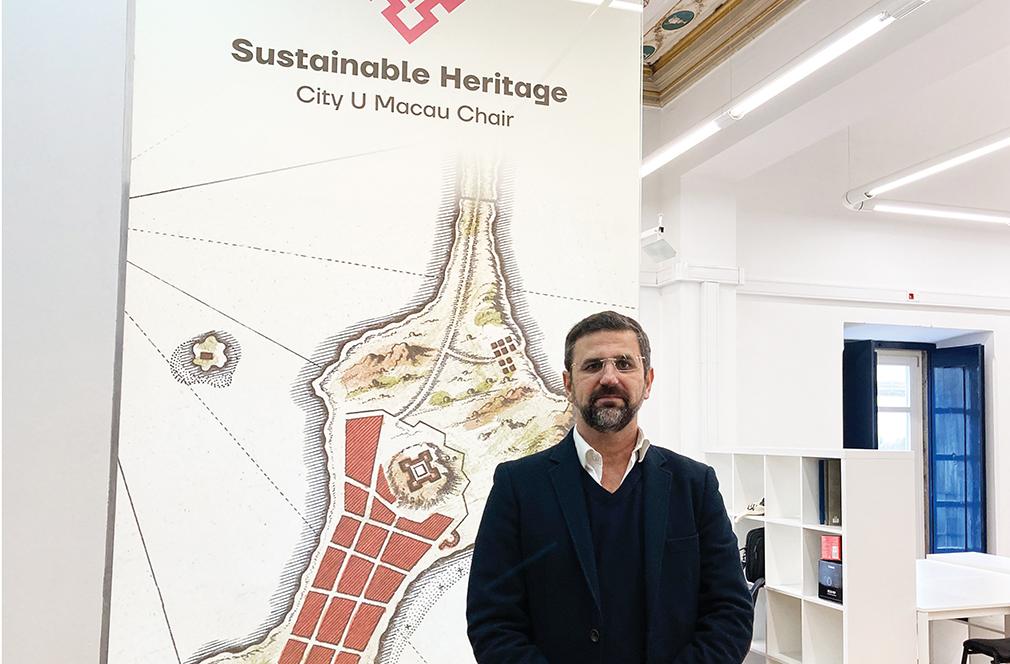 António Candeias, vice-reitor da Universidade de Évora: Valorizar o património comum