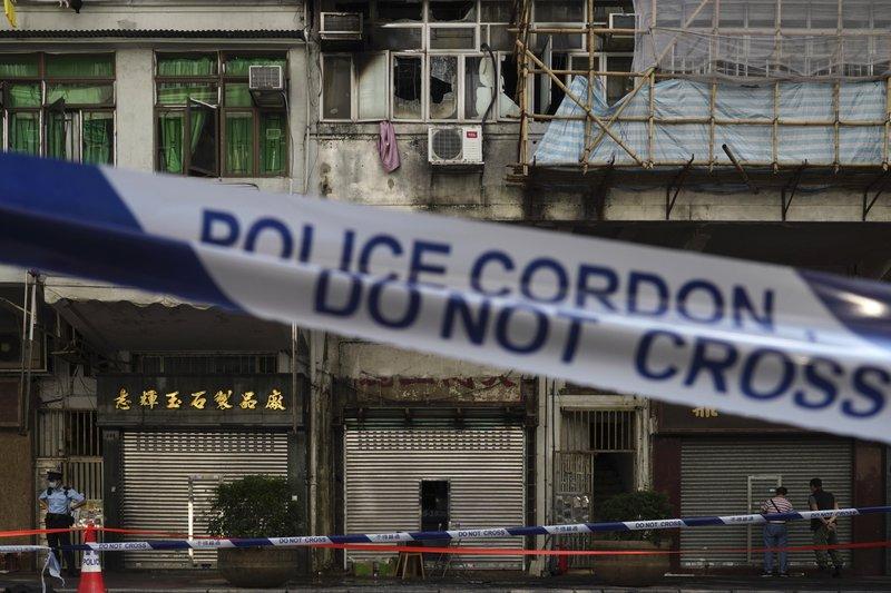 Pelo menos sete mortos e sete em estado crítico num incêndio em Hong Kong