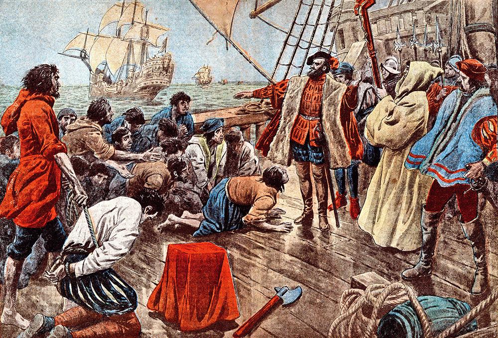 Fernão de Magalhães no mar Arábico