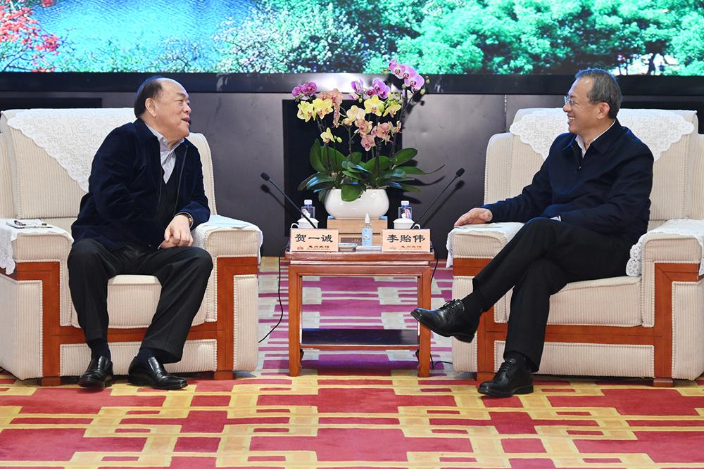 Cooperação | Ho Iat Seng de visita a Dongguan e Huizhou