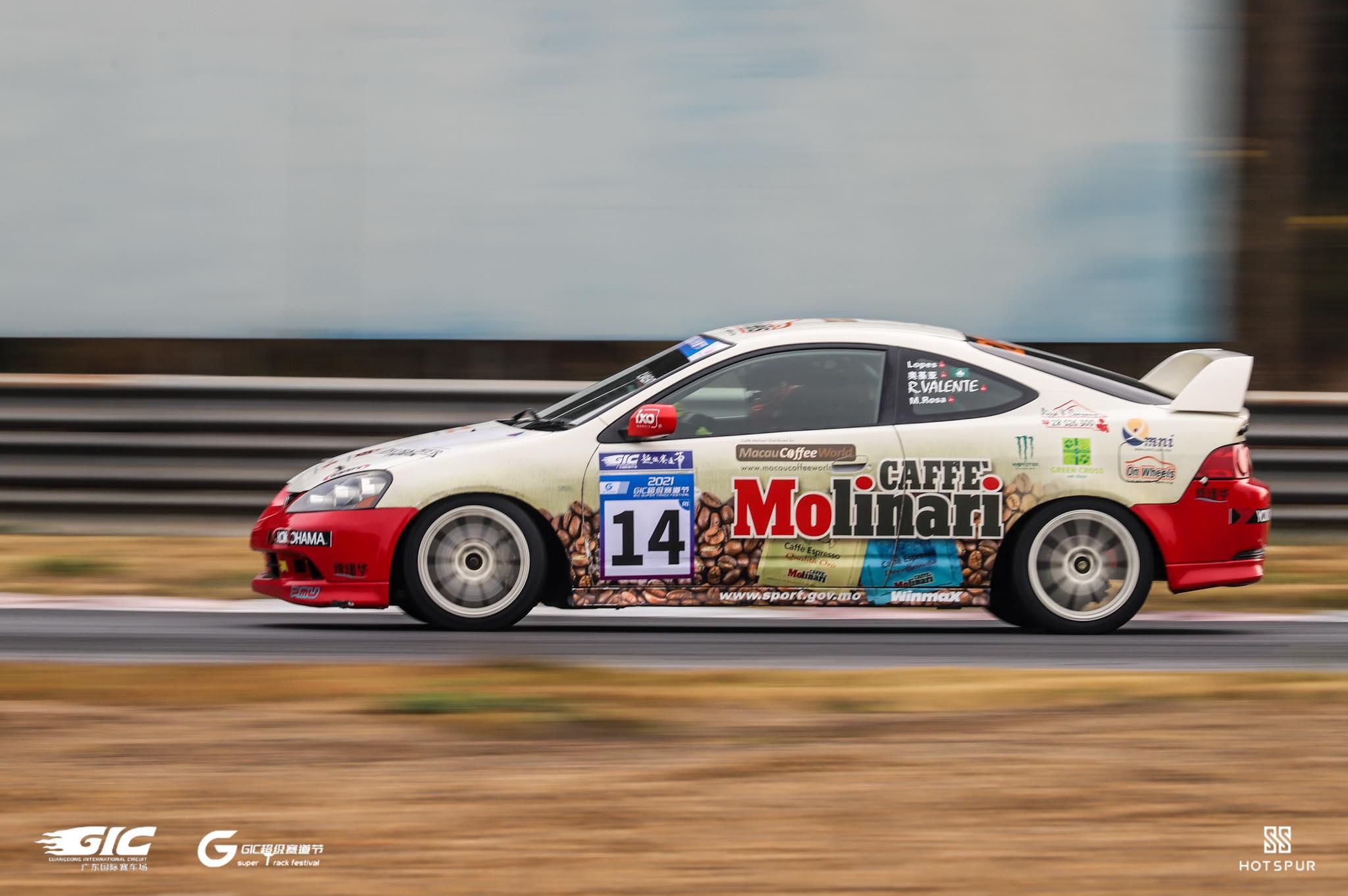 Automobilismo | Rui Valente subiu ao pódio em Guangdong