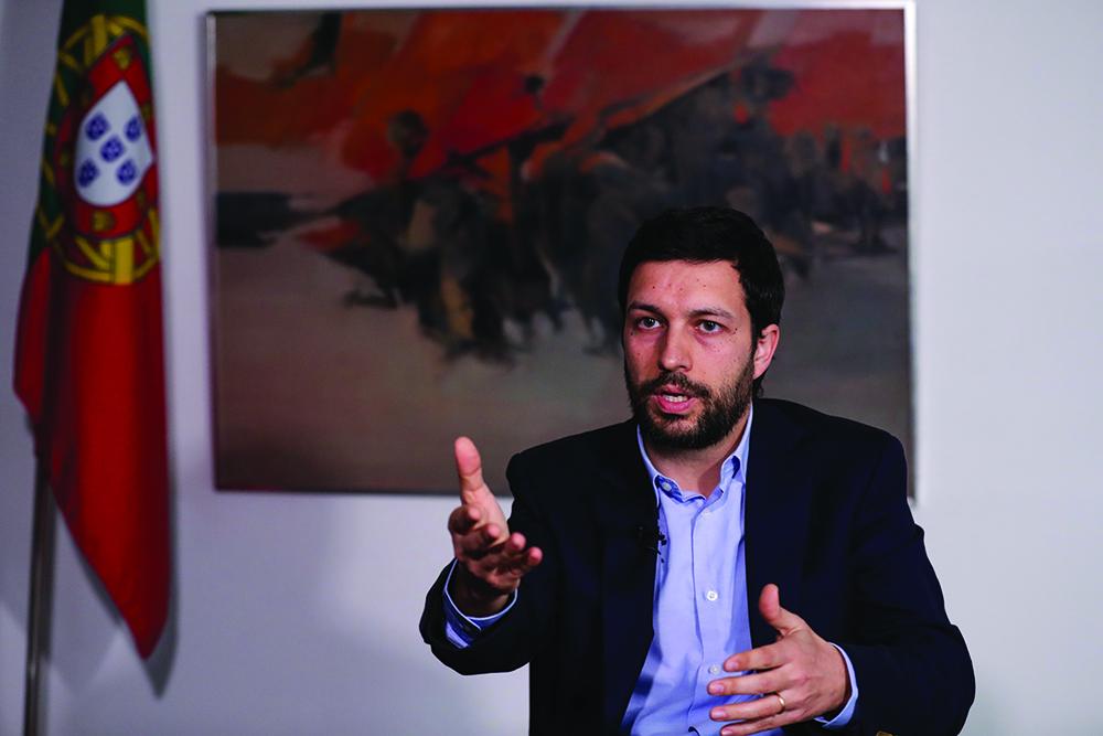 """João Ferreira, candidato à Presidência da República portuguesa: """"Há campo para aprofundar cooperação com Macau"""""""