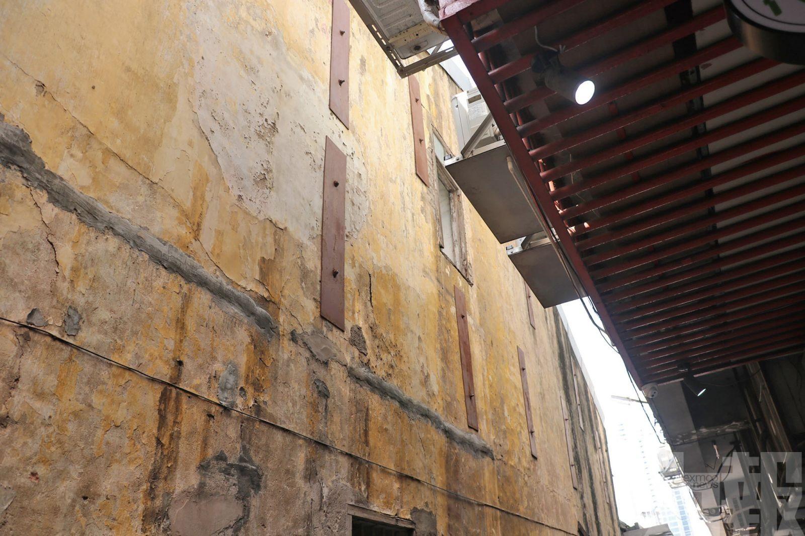 Segurança   Edifício inclinado no Patane causa preocupação