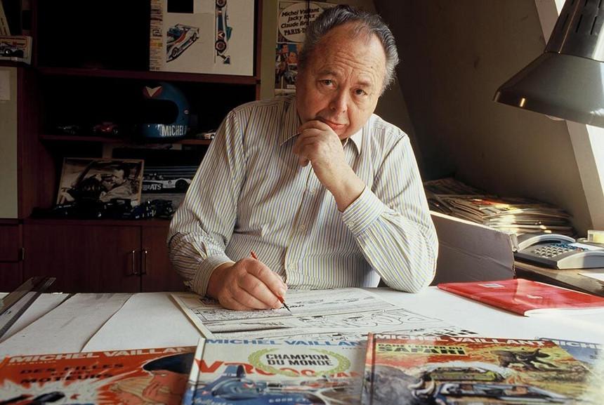 Morreu o autor francês de BD Jean Graton, criador de Michel Vaillant