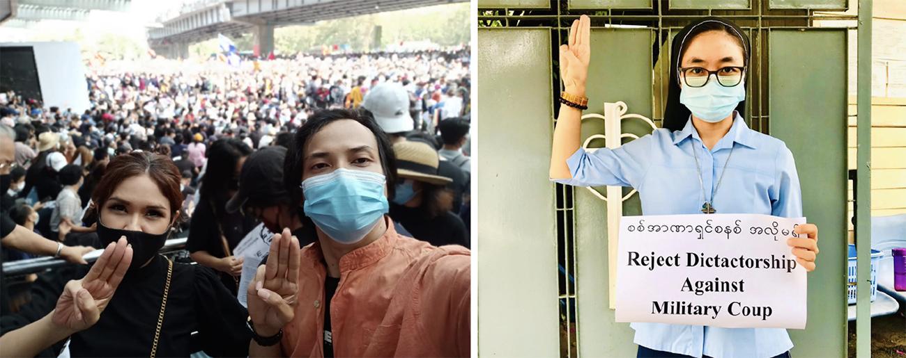 Myanmar | Comunidade católica associa-se aos protestos contra os militares