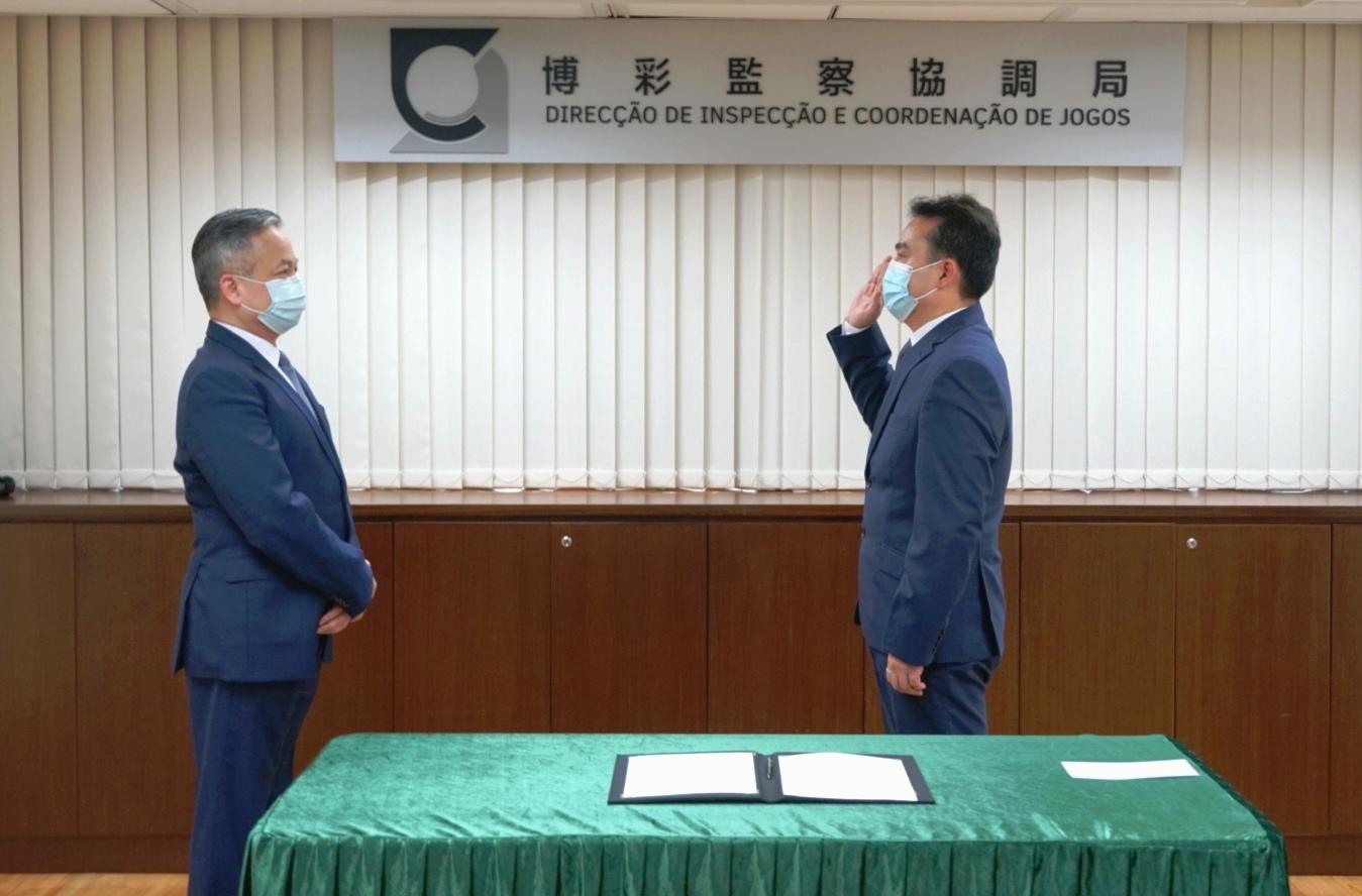 Jogo | Lio Chi Chong tomou posse como subdirector da DICJ