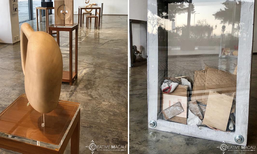 Creative Macau   Exposição de escultura de Eloi Scarva e Chan Un Man abre hoje portas