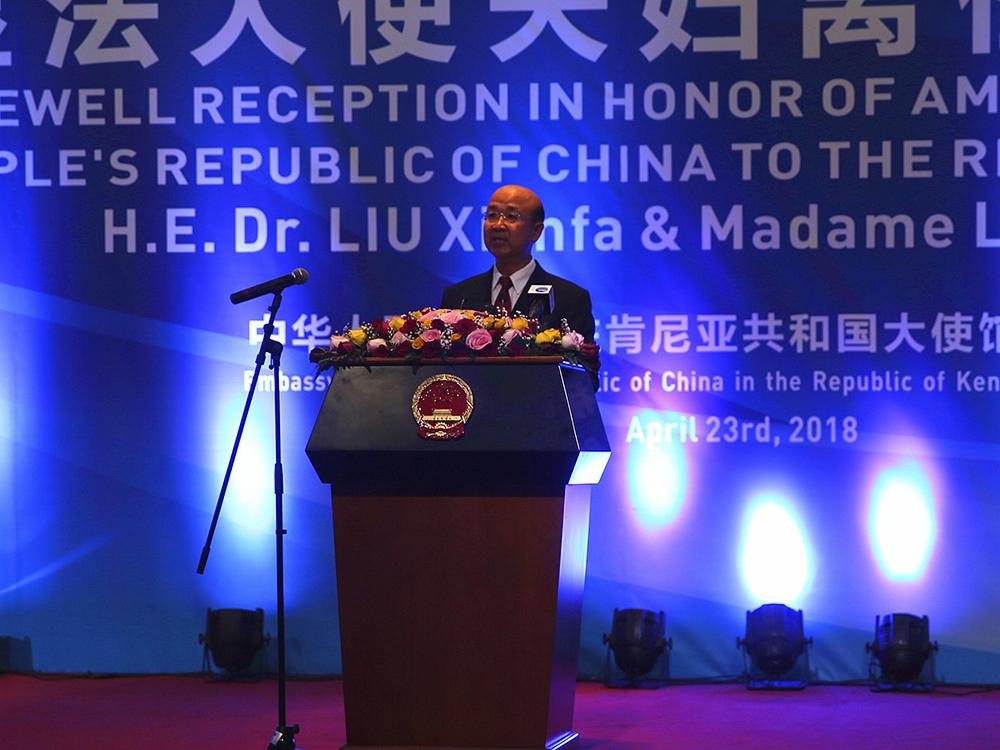 MNE | Liu Xianfa nomeado para Comissário na RAEM
