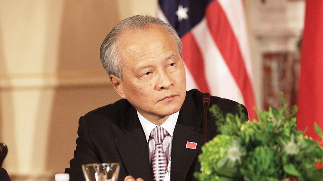 Encontro China-EUA | Cui Tiankai, Embaixador chinês nos EUA, esclarece posições e levanta dúvidas