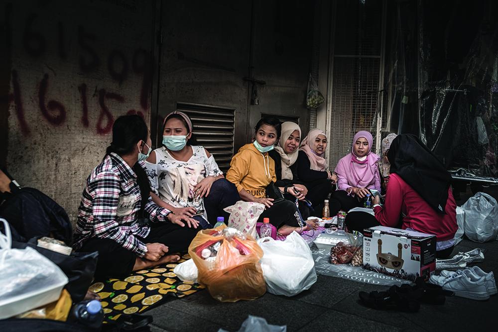 TNR | Desemprego e falta de apoio do Governo aumenta filas de distribuição de comida da Caritas