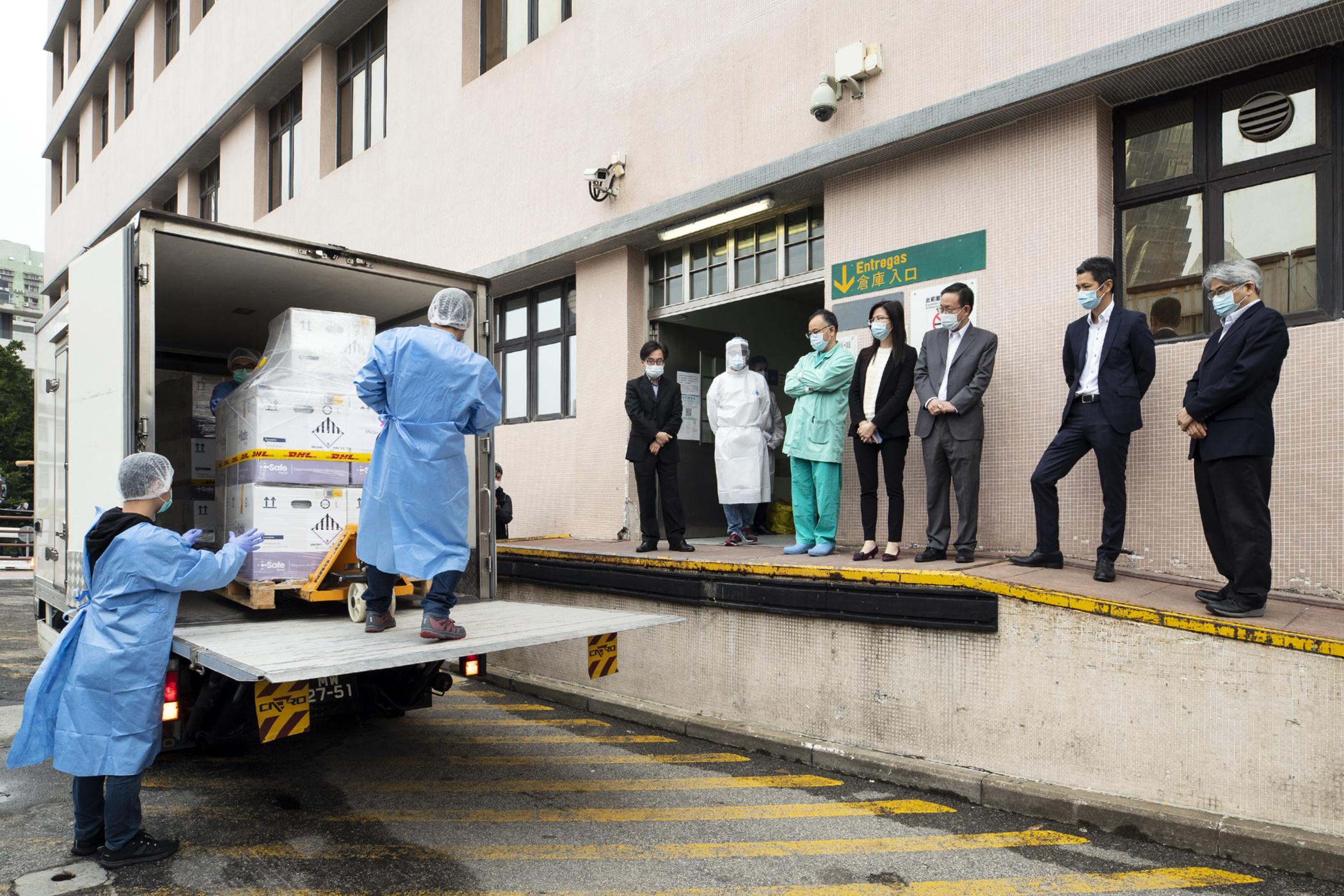 Covid 19 | Chegaram a Macau mais de 100 mil doses da vacina da BioNTech