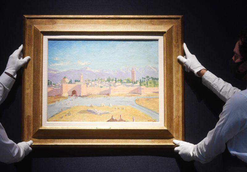 Quadro pintado por Churchill vendido por 7 milhões de libras