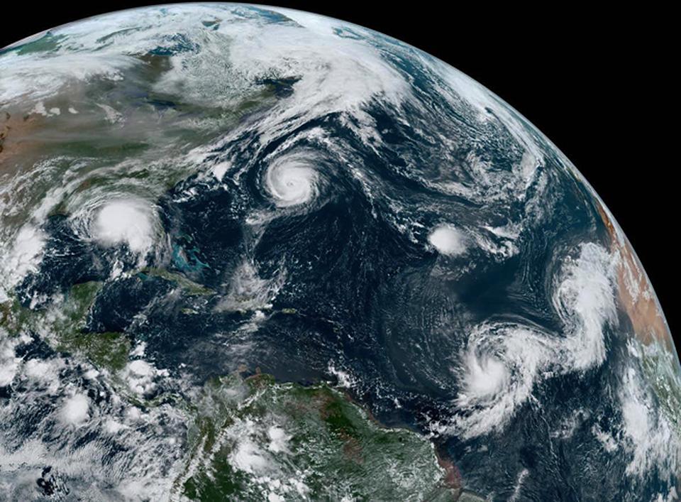 O Oceano, o clima e o tempo