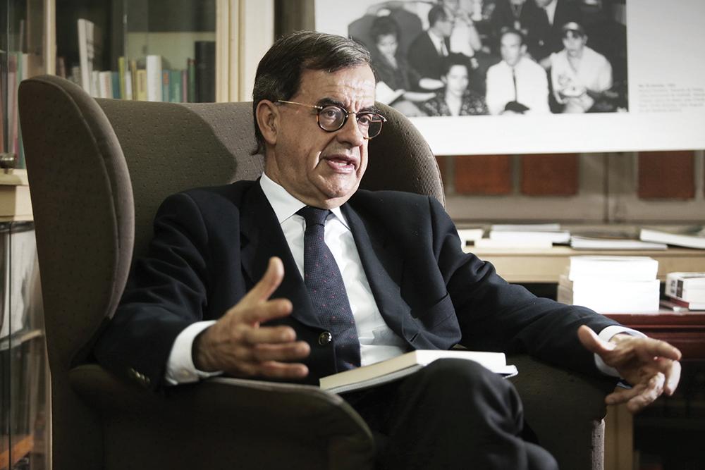"""Guilherme d'Oliveira Martins, ex-ministro da Educação: """"Negociar a Declaração Conjunta obrigou a coragem"""""""