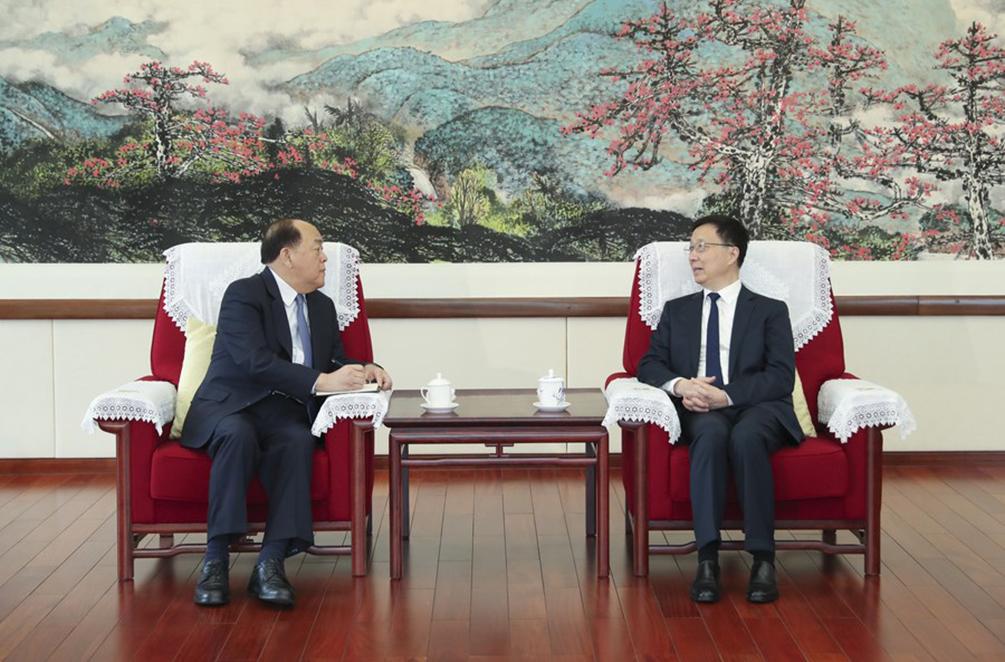 RAEHK e RAEM reunidas com vice-primeiro-ministro chinês