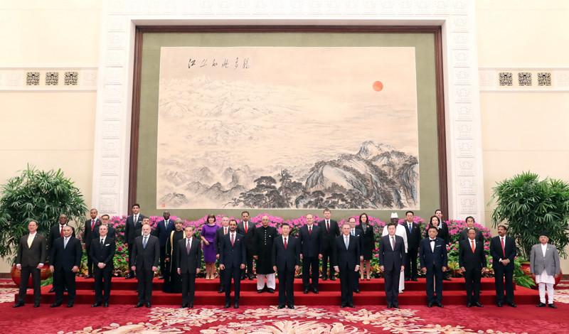 Diplomacia | Presidente chinês recebe credenciais de 29 embaixadores