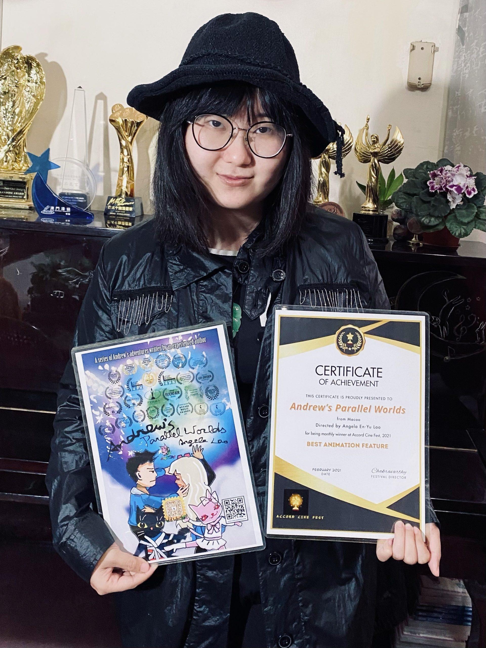 IPM | Série de animação de Angela Lao vence prémios internacionais