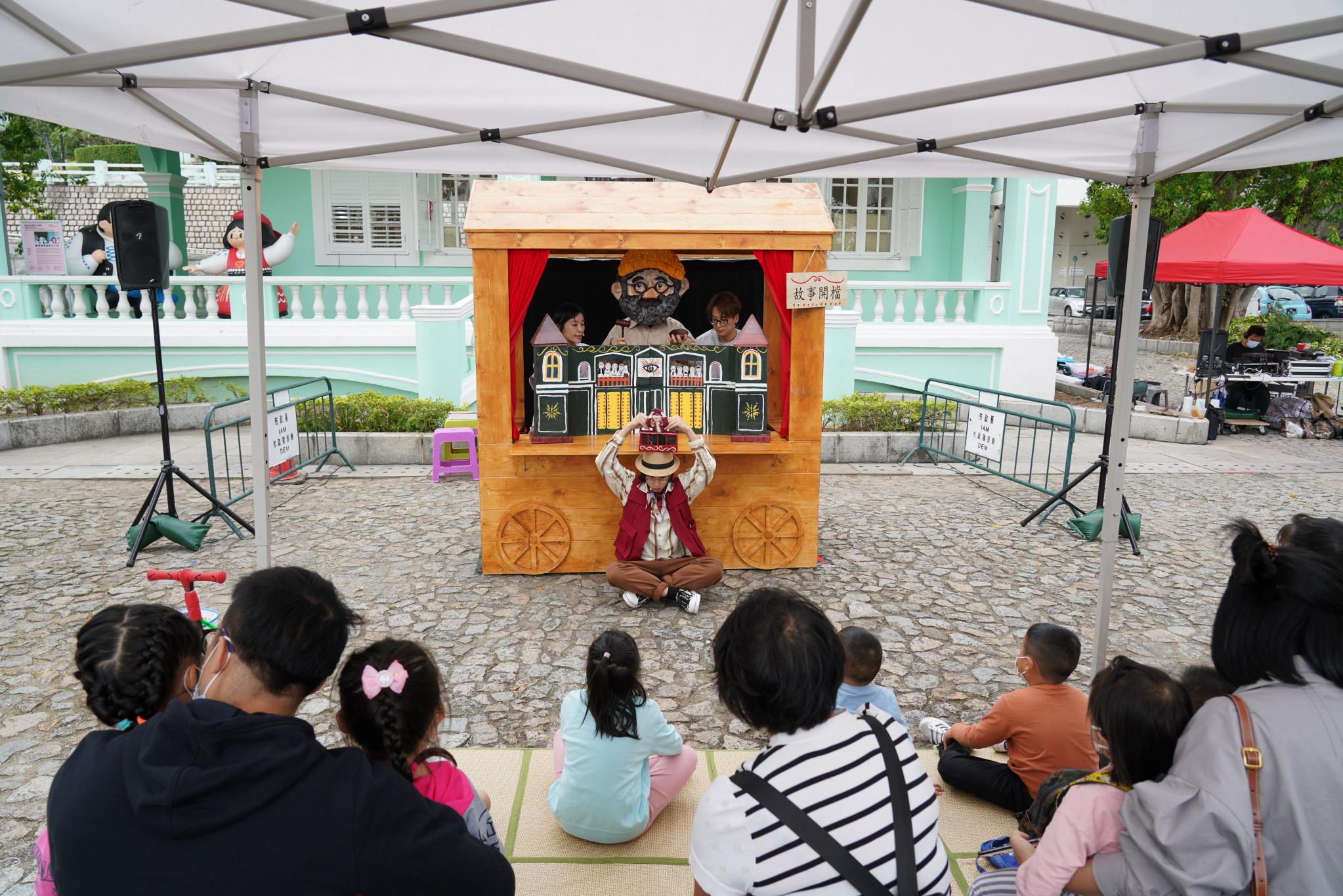 Porto Interior e Taipa recebem novos espectáculos de rua a partir de 1 de Maio