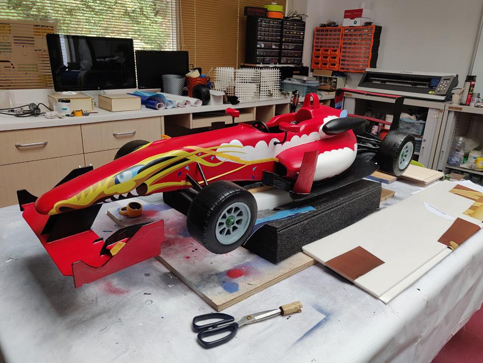Museu do Grande Prémio | USJ faz impressão 3D de carros de competição