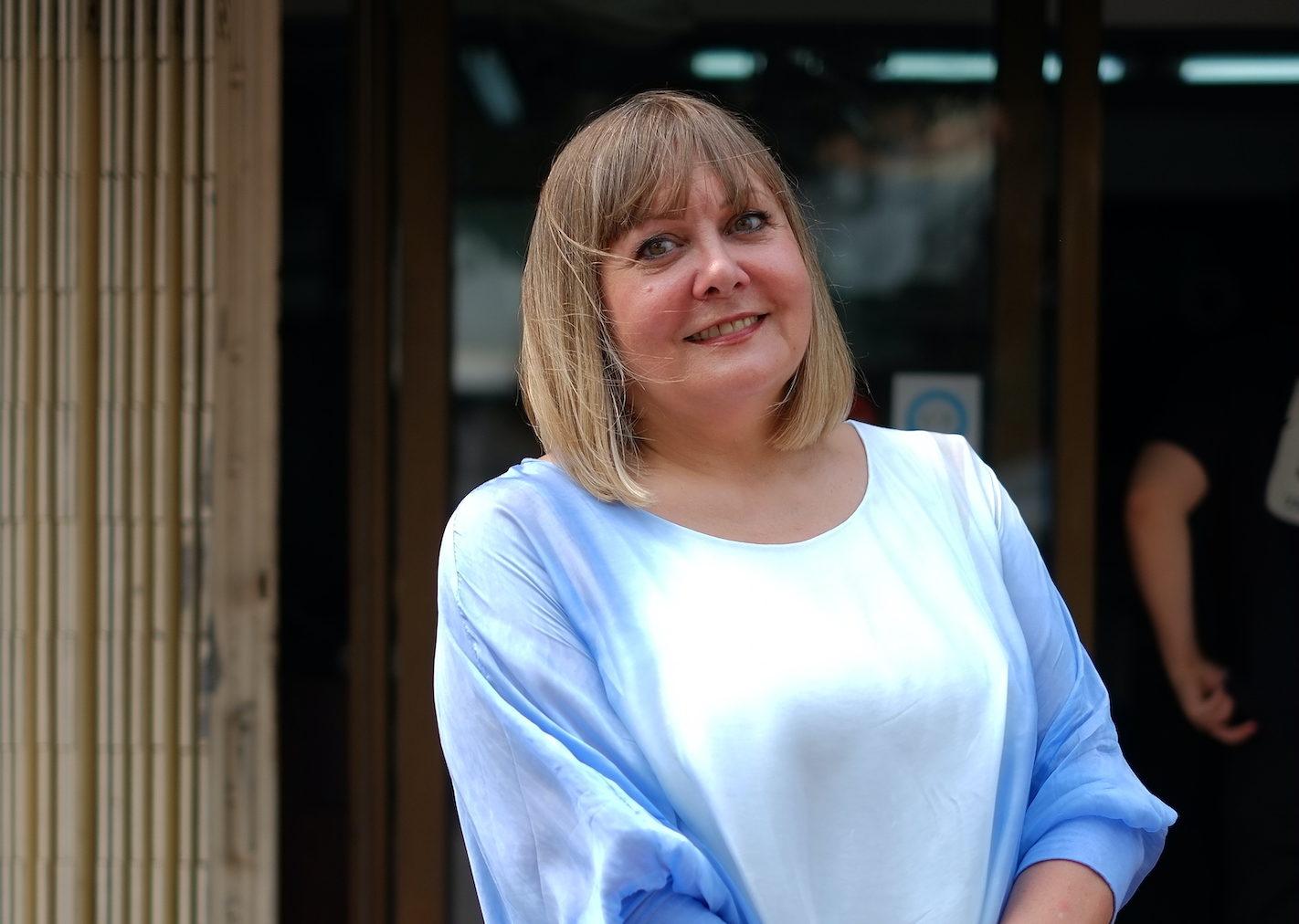 """Eileen Stow, gerente das pastelarias Lord Stow's: """"Grande Baía continua muito distante"""""""
