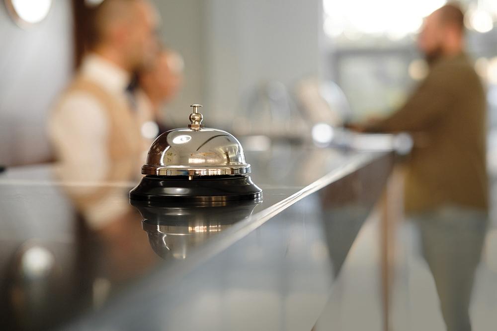Receitas da hotelaria caem 66,2 por cento em 2020
