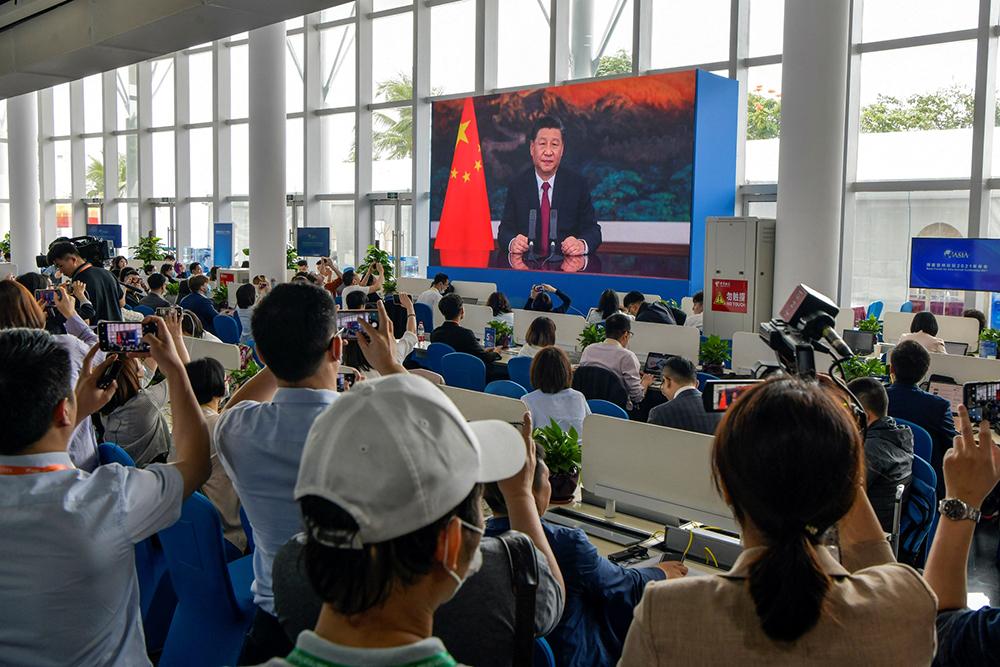 Fórum Boao | Xi Jinping alerta para perigos do unilateralismo e rejeita nova Guerra Fria