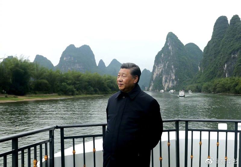 Guilin | Xi Jinping defende ecologia do rio Li