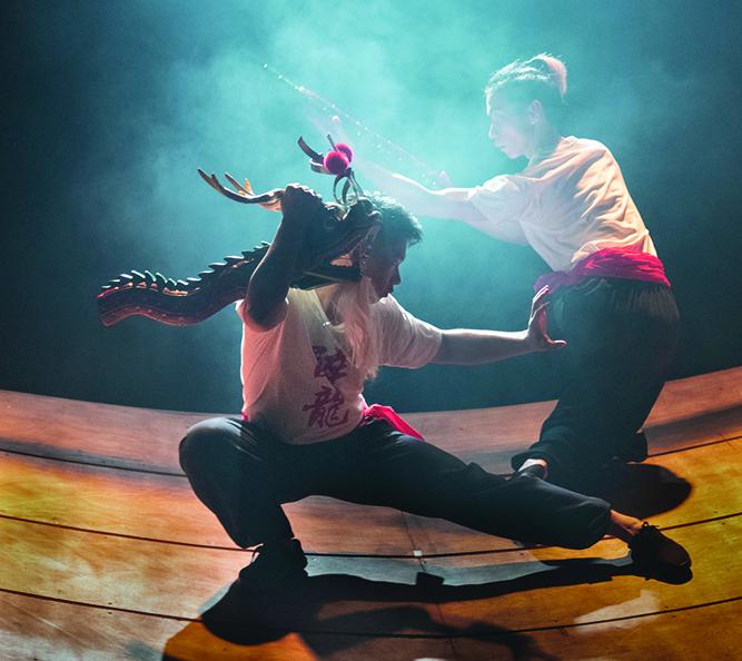 Teatro | Dança do Dragão Embriagado no Antigo Tribunal na sexta-feira