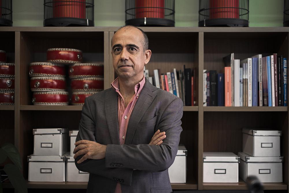 """Bruno Simões, empresário e presidente da associação MISE: """"Este ano é para esquecer"""""""