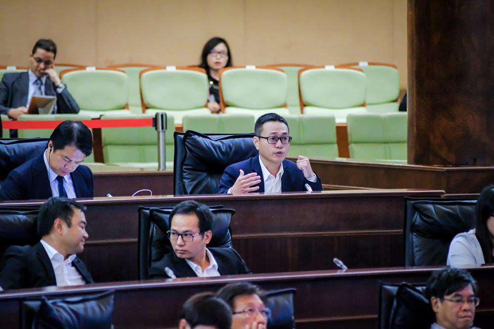 Lei Chan U quer data para construção de ETAR na Ponte do Delta