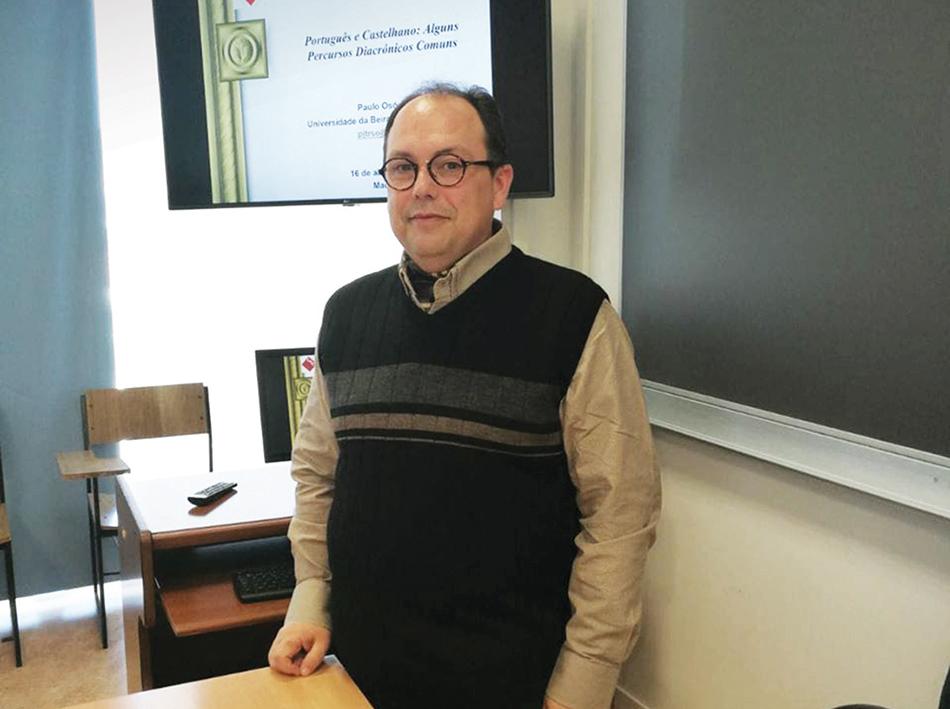"""Paulo Osório, linguista e professor catedrático: """"Macau não deve ser só árvore das patacas"""""""