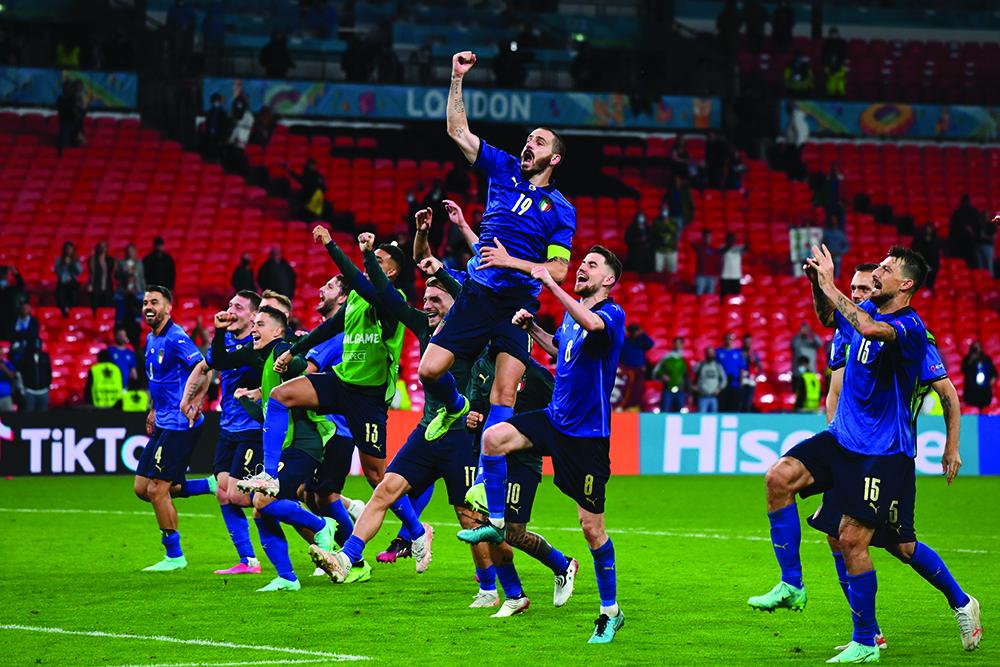 Euro 2020 | Itália alcança triunfo frente à Áustria no prolongamento