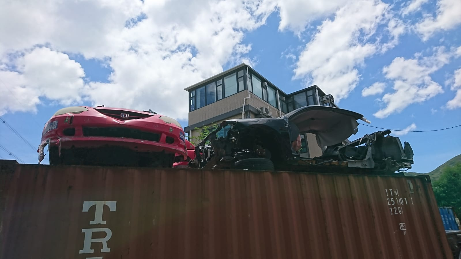 Automobilismo   O triste fim de vida dos carros de corrida locais