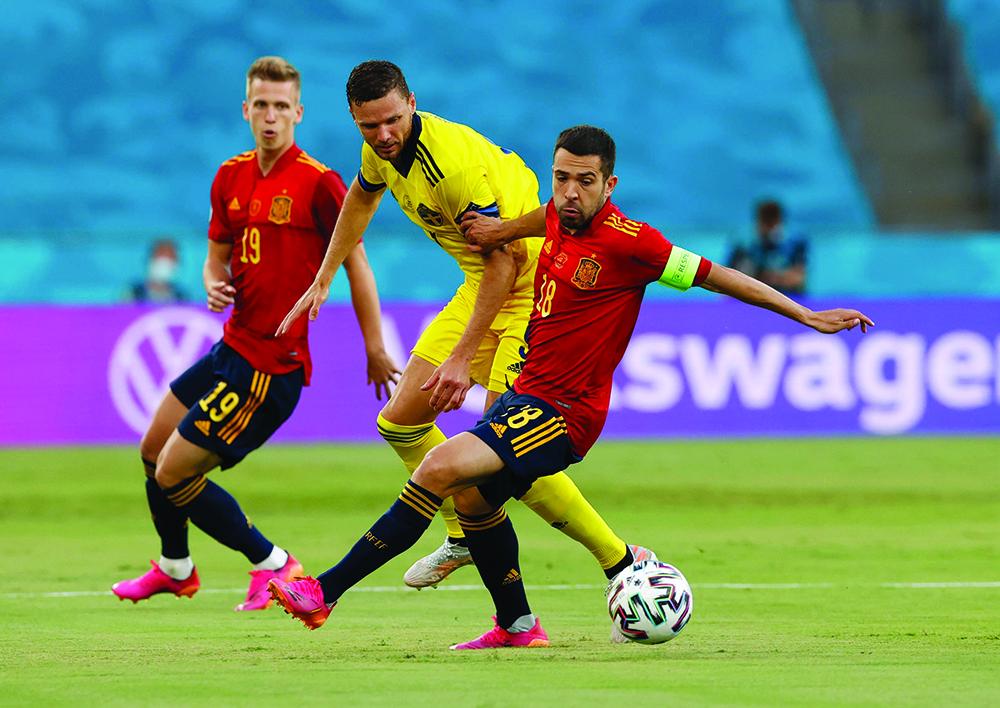 Euro 2020 | Espanha empata com Suécia em jogo marcado pelas oportunidades falhadas