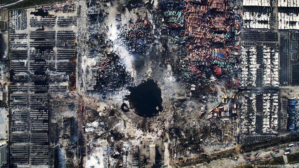 Sobe para 25 o número de mortos em explosão de conduta de gás na China