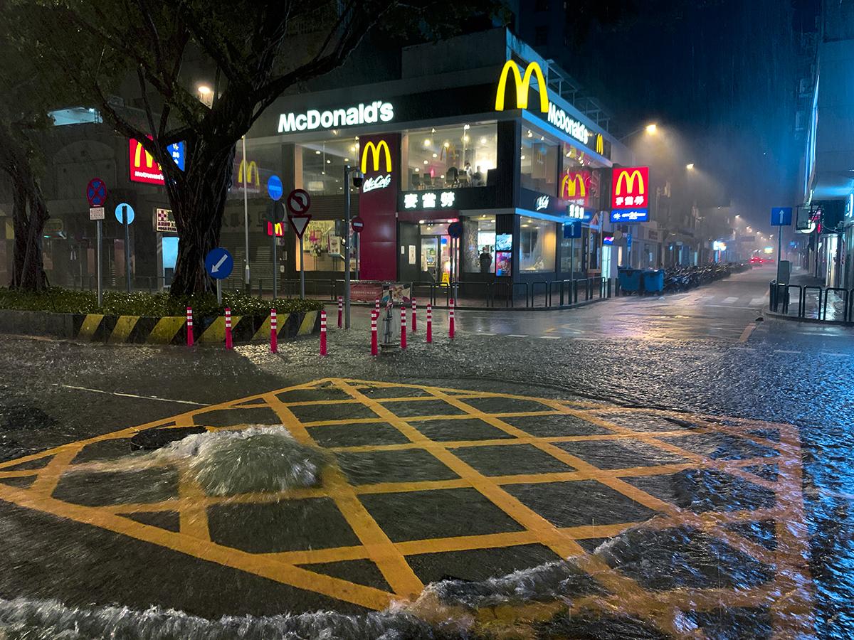 Chuva   SMG voltam a alertar para possíveis inundações