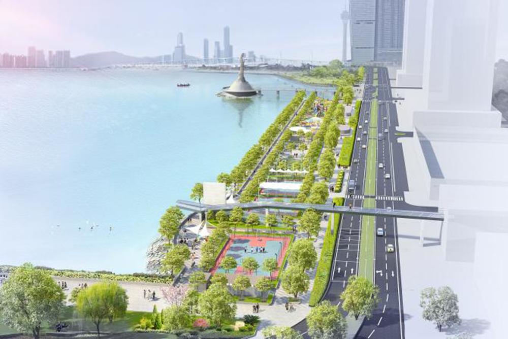 IAM   Projecto do corredor verde marginal concluído este ano