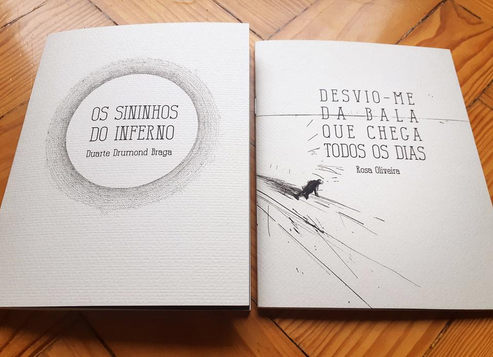 "Poesia | Duarte Drumond Braga lança ""Sininhos do Inferno"""