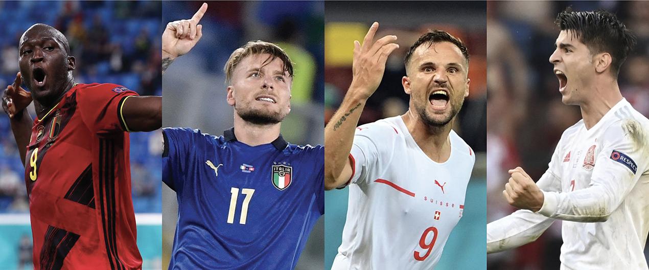 Euro 2020 | Quartos de final decididos entre favoritos
