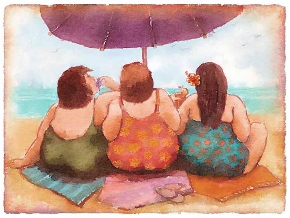 De boas intenções a gordofobia está cheia