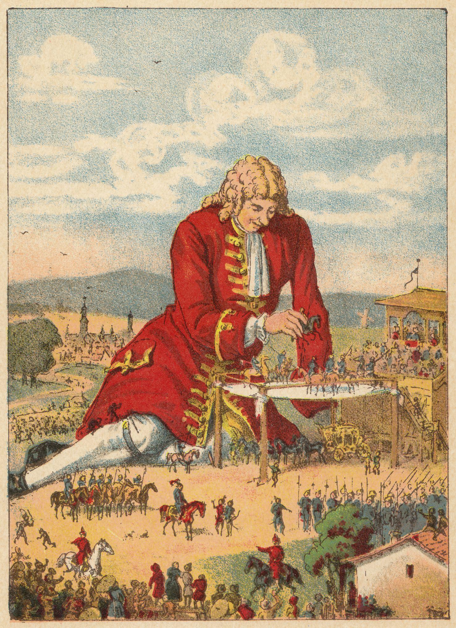As Viagens de Gulliver  – Terceira Parte