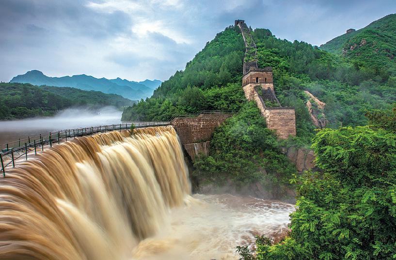 """Barragem na China """"pode ceder a qualquer momento"""" devido a chuvas torrenciais"""
