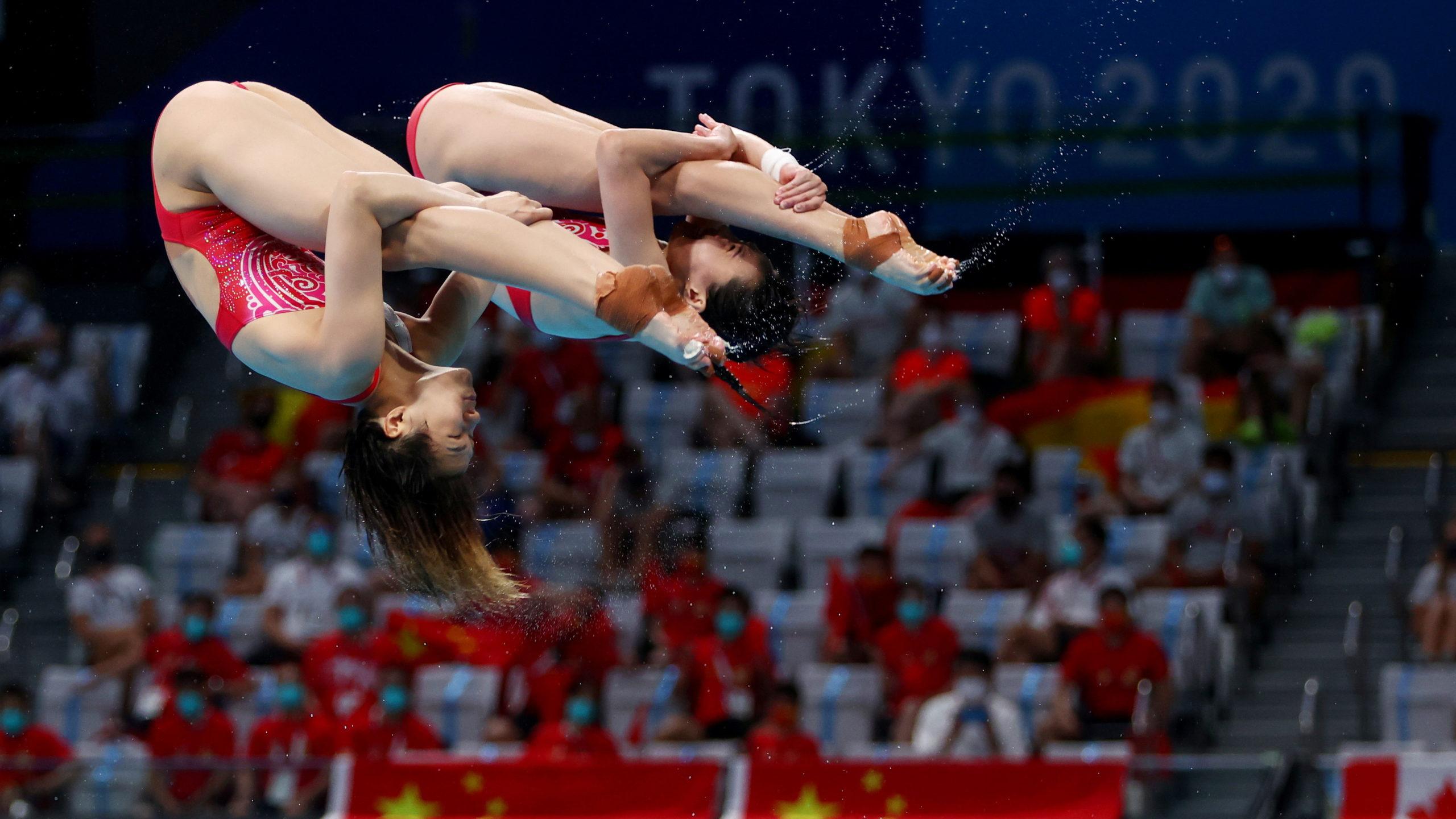 Tóquio 2020 | China conquista o ouro na primeira prova de mergulho