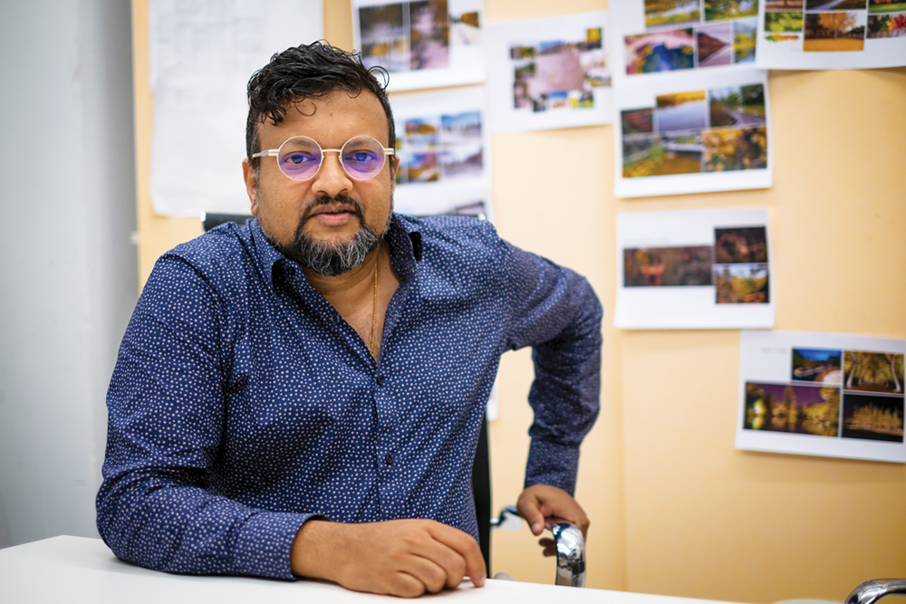 """Rui Leão, arquitecto e membro da lista de Agnes Lam: """"Não há indústrias criativas sem liberdade"""""""